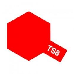 Tamiya Color Spray Paint - Gloss Italian Red TS-08