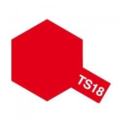 Tamiya Color Spray Paint - Metallic Red TS-18