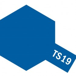 Tamiya Color Spray Paint - Metallic Blue TS-19