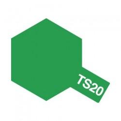 Tamiya Color Spray Paint - Metallic Greem TS-20