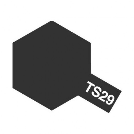 Tamiya Color Spray Paint - Semi Gloss Black TS-29