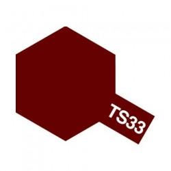 Tamiya Color Spray Paint - Gloss Dull Red TS-33