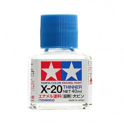Tamiya Enamel Thinner X-20 40ml