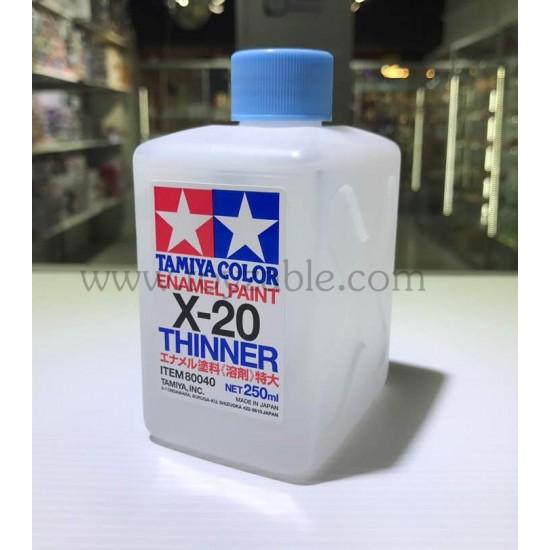 Tamiya Enamel Thinner X-20 250ml 80040