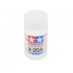 Tamiya Acryl/Poly Thinner X-20A 46ml 81030