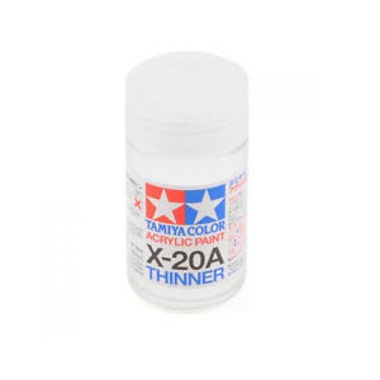 Tamiya Acryl/Poly Thinner X-20A 46ml 81030