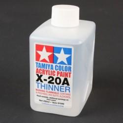 Tamiya Acryl/Poly Thinner X-20A 250ml 81040