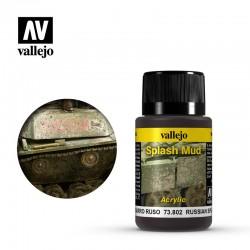 AV Vallejo Weathering Effect - RUSSIAN SPLASH MUD 40ml