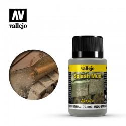AV Vallejo Weathering Effect - INDUSTRIAL SPLASH MUD 40ml