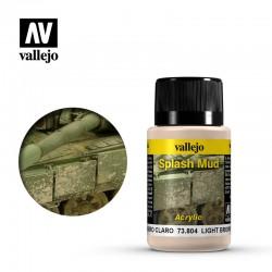 AV Vallejo Weathering Effect - LIGHT BROWN SPLASH MUD 40ml