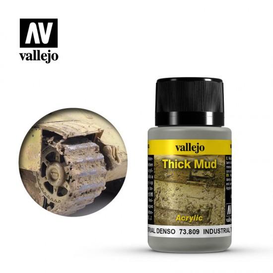 AV Vallejo Weathering Effect - INDUSTRIAL MUD 40ml