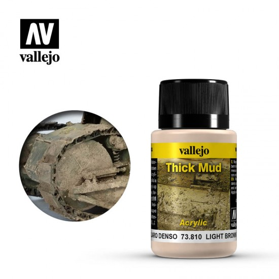 AV Vallejo Weathering Effect - LIGHT BROWN MU 40ml