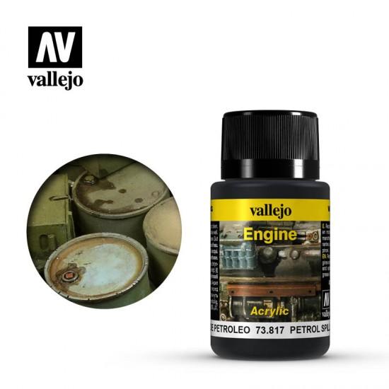 AV Vallejo Weathering Effect - PETROL SPILLS 40ml