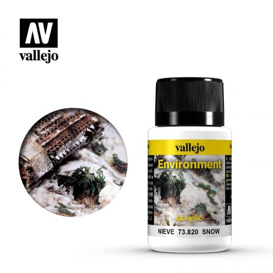 AV Vallejo Weathering Effect - SNOW 40ml