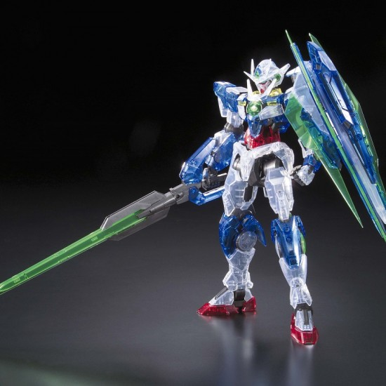 Bandai MG 1/100 OO QAN(T) Clear Color Expo Ver.