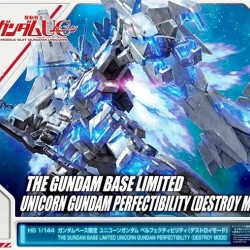 HGUC 1/144 Full Armor Unicorn Gundam Perfectibility (Destroy Mode) (The Gundam Base Limited)