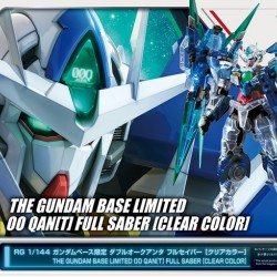 RG 1/144 OO Qan(T) Full Saber Clear Color (The Gundam Base Limited)