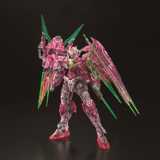 RG 1/144 OO Qan(T) Full Saber Trans-am Clear (The Gundam Base Limited)