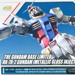 HG 1/144 RX-78-2 Gundam Metallic Gloss Injection (The Gundam Base Limited)