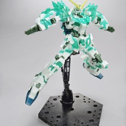 Bandai HGUC 1/144 The Gundam Base Limited Unicorn Gundam Luminous Crystal Body