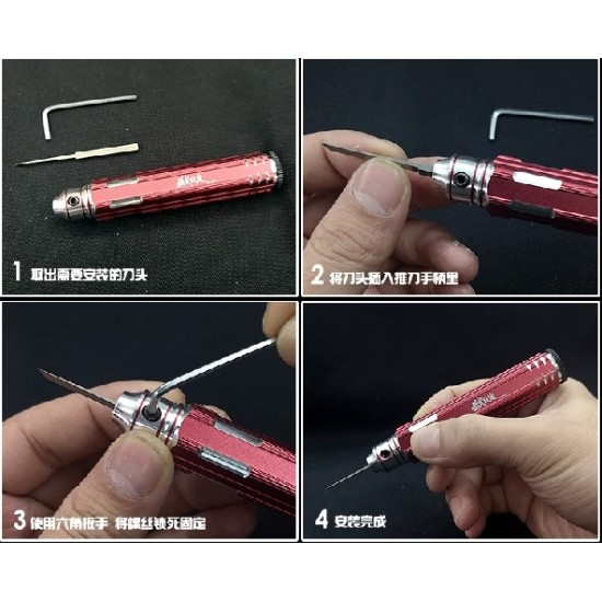 Moshi Scriber Knife Line Cutter - MS012