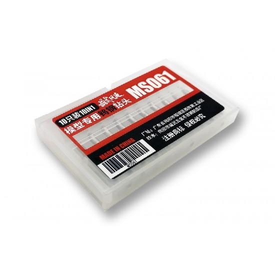 Moshi Hand Drill Head 0.1-1.0mm 10pcs set
