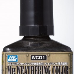 Mr.Hobby Weathering Multi Black WC01