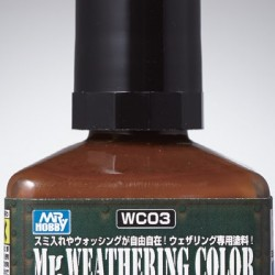 Mr.Hobby Weathering Stain Brown WC03