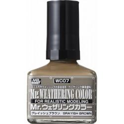Mr.Hobby Weathering Grayish Brown WC07
