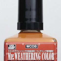Mr.Hobby Weathering Rust Orange WC08
