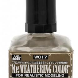 Mr.Hobby Weathering WC17 Matt Umber