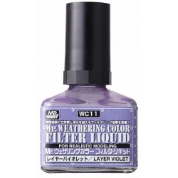 Mr.Hobby Weathering Layer Violet WC11