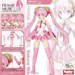 Kotobukiya Plastic Model Frame Arms Girl Hatsune Miku - Sakura Miku