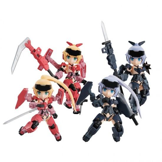 MegaHouse Desktop Army Frame Arms Girl KT-323f Jinrai Series