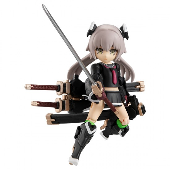Megahouse Desktop Army Heavily Armed High School Girls - First Squad