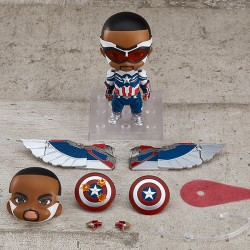 [PreOrder] GSC Nendoroid 1618-DX The Falcon and The Winter Soldier - Captain America (Sam Wilson) DX