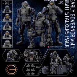 [PreOrder] Kotobukiya Kit Block Early Governor Vol. 1 Night Stalkers Pack
