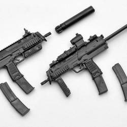TomyTec 1/12 Military Series Little Armory LA009 MP7A1 Type