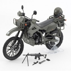 TomyTec 1/12 Military Series Little Armory LM002 Spy Bike KLX250 DX ver.