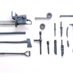TomyTec 1/12 Military Series Little Armory LD026 Close Combat Weapon A