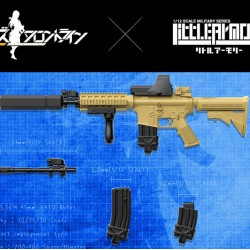 TomyTec 1/12 Military Series Little Armory LADF05 Girls Frontline M4A1 type