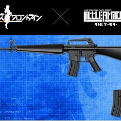 TomyTec 1/12 Military Series Little Armory LADF06 Girls Frontline M16A1 type