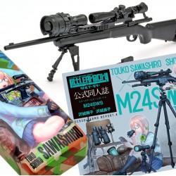 TomyTec 1/12 Military Series Little Armory LS04 M24 Sawashiro Touko・Shouko Mission Pack