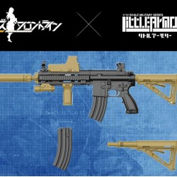 TomyTec 1/12 Military Series Little Armory LADF08 Girls Frontline 416 type