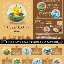 Rement Pokemon Terrarium Collection